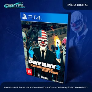 PayDay 2: Crimewave Edition Ps4 Mídia Digital - Sistema Original 1 - Primária  -