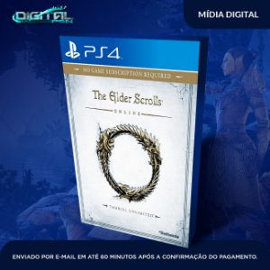 The Elder Scrolls Online Ps4 Mídia Digital