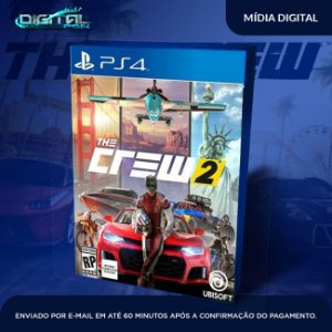 The Crew 2 PS4 Game Digital