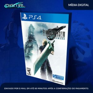 FINAL FANTASY VII REMAKE PS4 Game Digital