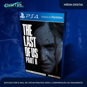 The Last Of Us ll Ps4 Psn Mídia Digital