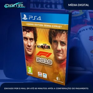 F1 2019 Legends Edition Senna and Prost Ps4 Digital