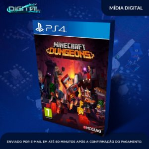 Minecraft Dungeons Ps4 Digital