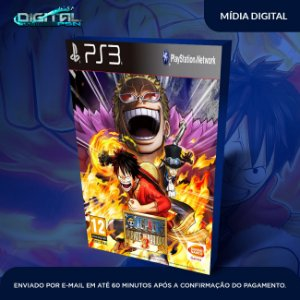One Piece: Pirate Warriors 3 Ps3 Mídia Digital
