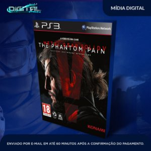 Metal Gear Solid V: The Phantom Pain Ps3 Mídia Digital