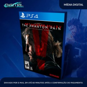 Metal Gear Solid V: The Phantom Pain Ps4 Mídia Digital original 1