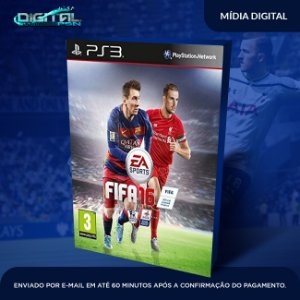 Fifa 16 Ps3 Mídia Digital