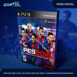 Pro Evolution Soccer 2018 PES 2018 Ps3 Mídia Digital