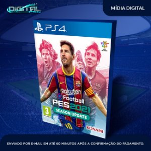 eFootball PES 2021 Mídia Digital