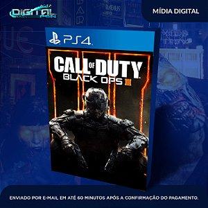 Call Of duty Black Ops 3 PS4 Original 1 psn vitalícia primária em inglês