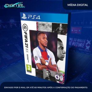 FIFA 21 Standard Edition PS4 Mídia Digital