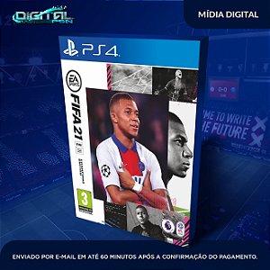 FIFA 2021 21 PS4 Mídia Digital