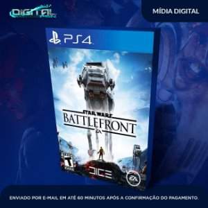Star Wars Battlefront PS4 Mídia Digital