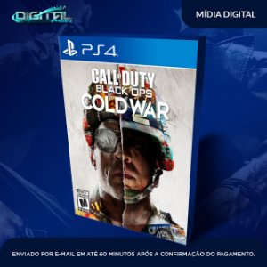 Call Of Duty Cold War Ps4 Mídia Digital - Secundária