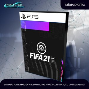 FIFA 2021 21 Mídia digital Ps5