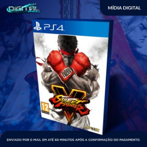 Street Fighter V Mídia Digital Ps4