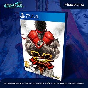 Street Fighter V Mídia Digital Ps4