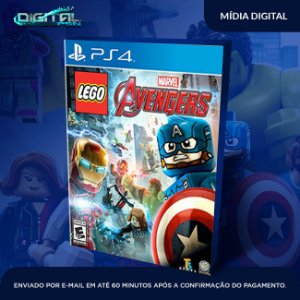 LEGO Marvel's Avengers Mídia Digital Ps4