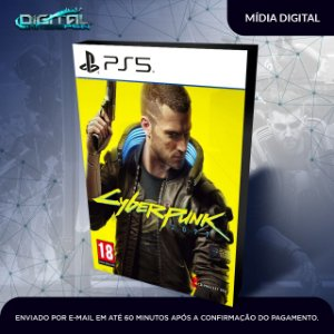 Cyberpunk 2077 Ps5 Mídia Digital