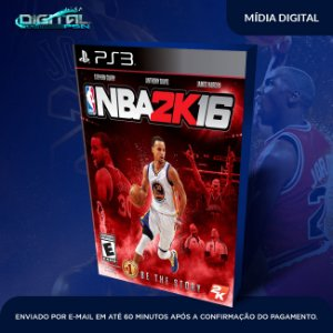 NBA 2K16 Mídia Digital Ps3