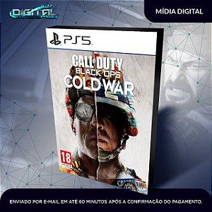 Call Of Duty Cold War Ps5 Mídia Digital