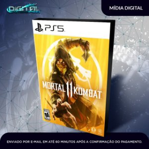 Mortal Kombat 11 Ps5 Mídia Digital