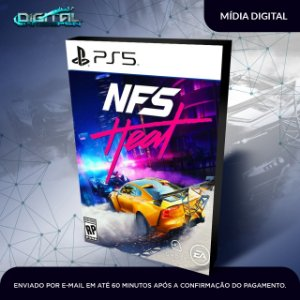 Need for Speed Heat PS5 Mídia Digital Primária