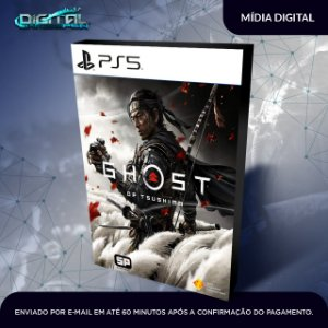 Ghost of Tsushima PS5 Mídia Digital Primária