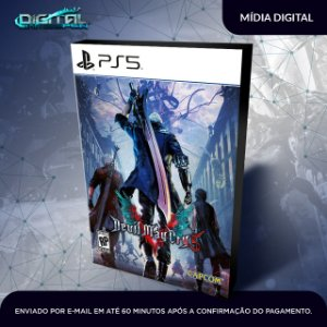 Devil May Cry 5 PS5 Mídia Digital Primária