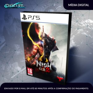 Nioh 2 PS5 Mídia Digital