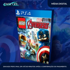 Lego Marvel Avengers Ps4 Mídia Digital