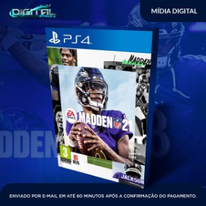 EA Madden NFL 21 2021 Ps4 Mídia Digital