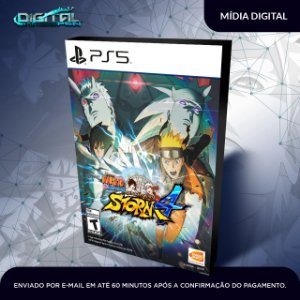 Naruto Shippuden Ultimate Storm 4 Ps5 Midia Digital