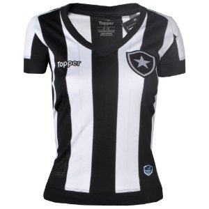 Camisa Botafogo Jogo I Feminina 2017 Topper
