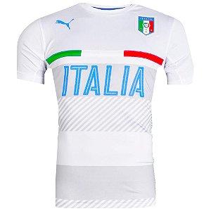 Camisa Itália Treino Puma Branco