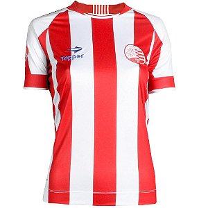 Camisa Náutico Jogo I Feminina S/Número 2016 Topper