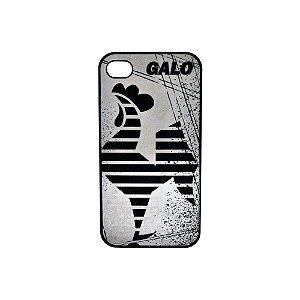 Capa Iphone 4/4S Galo Volpi Preto Atlético