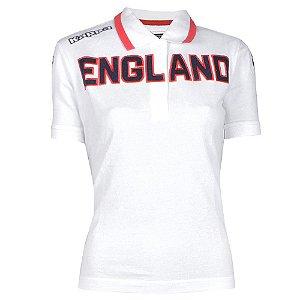 Camisa Polo Feminina England Kappa