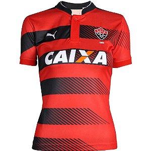 Camisa Vitória Jogo I Feminina 2016 Puma