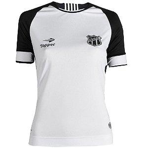 Camisa Ceará Jogo II Feminino S/Número 2016 Puma