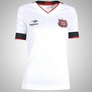 Camisa Brasil de Pelotas Jogo II Feminina 2016 Topper