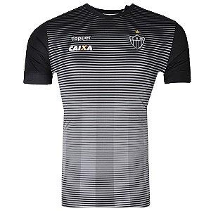 Camisa Atlético Concentração Atleta 2017 Topper