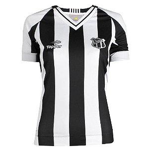 Camisa Ceará Jogo I Feminino Sem Número Sem Patrocínio 2016