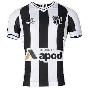 Camisa Ceará Jogo I Sem Número 2016 C/Patrocínio