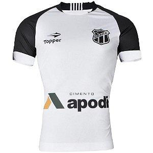 Camisa Ceará Jogo II Sem Número 2016 C/Patrocínio