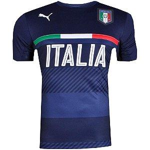 Camisa Itália Treino Puma Marinho