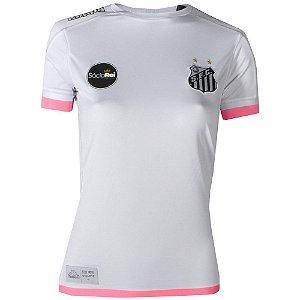 Camisa Santos Jogo I Feminina 2017 ST Kappa