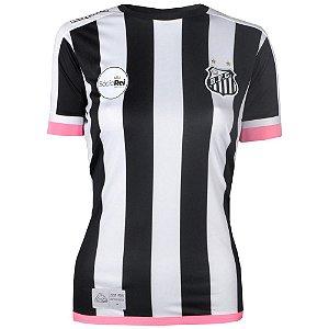 Camisa Santos Jogo II Feminina 2017 ST Kappa