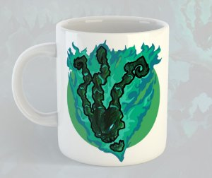 Caneca Thresh League of Legends