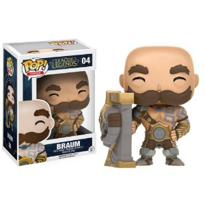 Boneco Braum - Funko de League of Legends